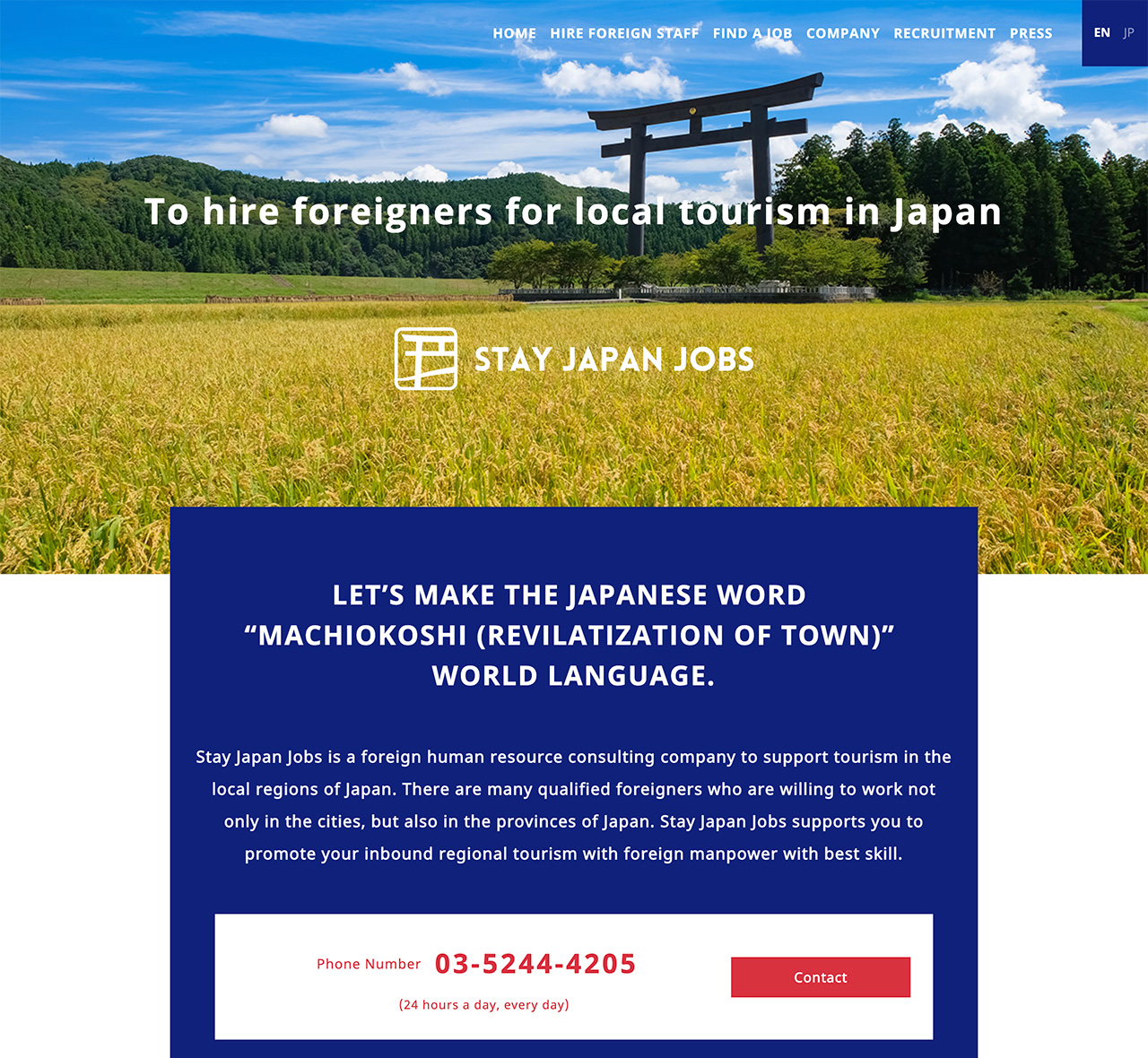 Stay Japan Jobs